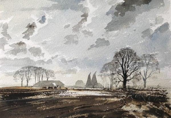 Kent Original Watercolour Paintings