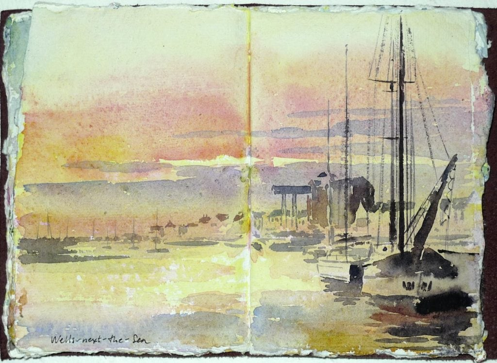 Painting in Norfolk