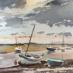 Oil Painting of Norfolk