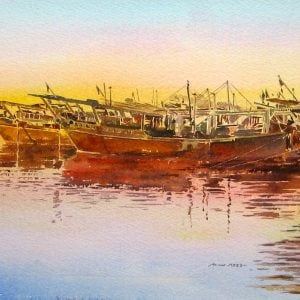 Paintings of Dhows