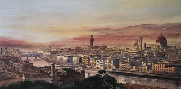 Florence Print Italy
