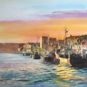 North Shields FishQuay Print