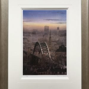 Tyne Bridge Framed