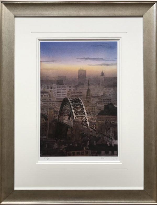 Tyne Bridge Framed