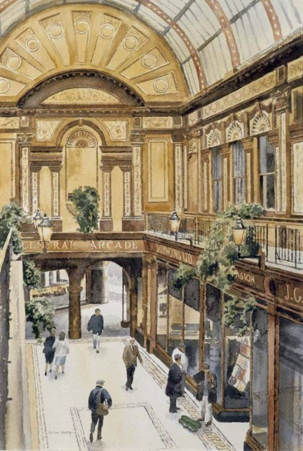 Prints of Newcastle Central Arcade