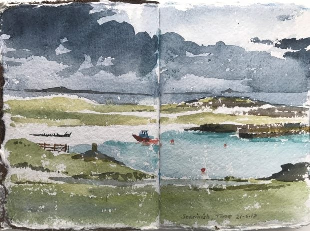Scarinish, Tiree by Alan Reed