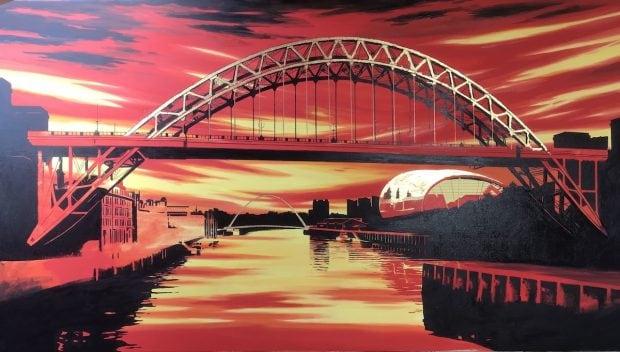 Tyne Bridge Alan Reed