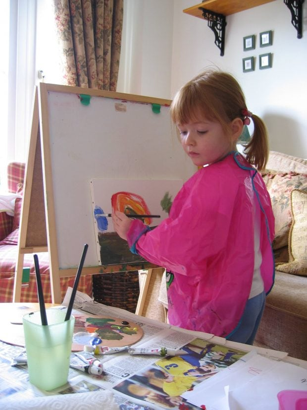 Painting Lessons for Children by Alan Reed