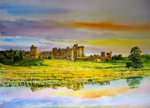 Alnwick Castle Northumberland.