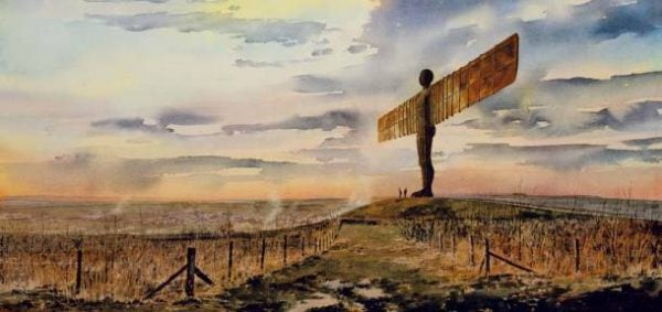 Angel of the North Print