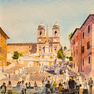 Spanish Steps Art Prints