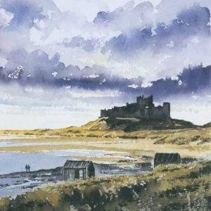 Bamburgh Castle Print