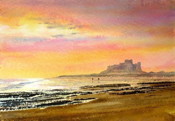 Bamburgh Castle Prints