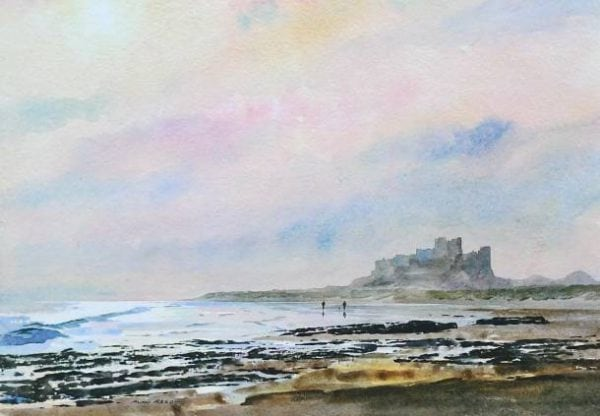 Bamburgh Castle, Winters Walk, Northumberland.jpeg