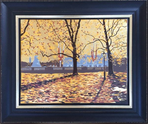 Buckingham Palace Framed Original Painting.jpg
