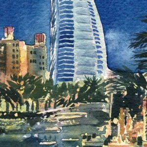 Burj Al Arab Dubai Magnetic Bookmark.jpeg