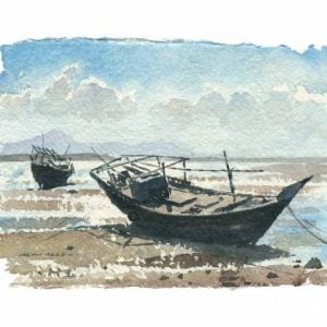 Dhows Sur No 2 Gulf Art.jpeg