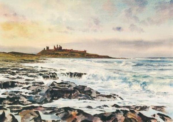 Dunstanburgh Print