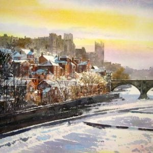 Limited edition Print of Durham