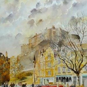 Edinburgh Castle Prints