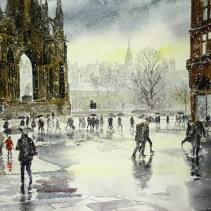 Edinburgh Watercolour Prints