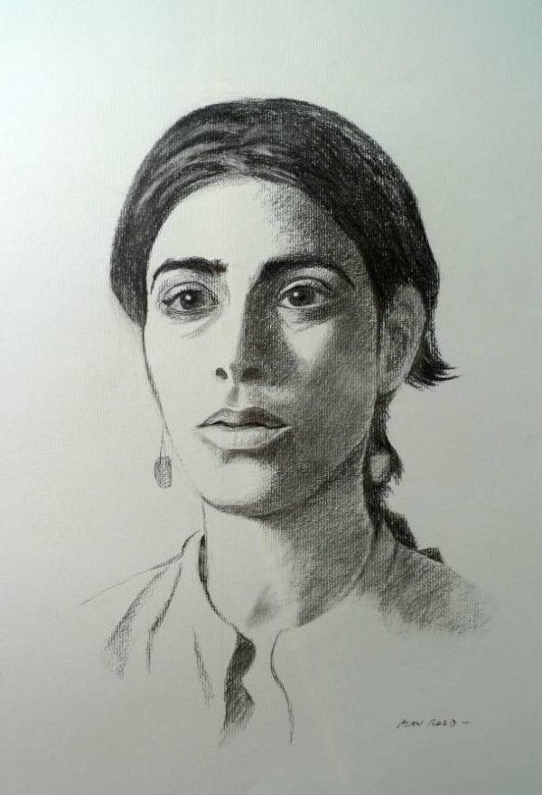 Emanuela, Portrait in Charcoal.jpeg