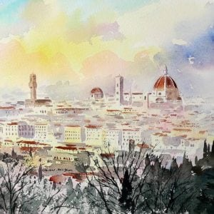 Florence from San Miniato by Alan Reed.jpg