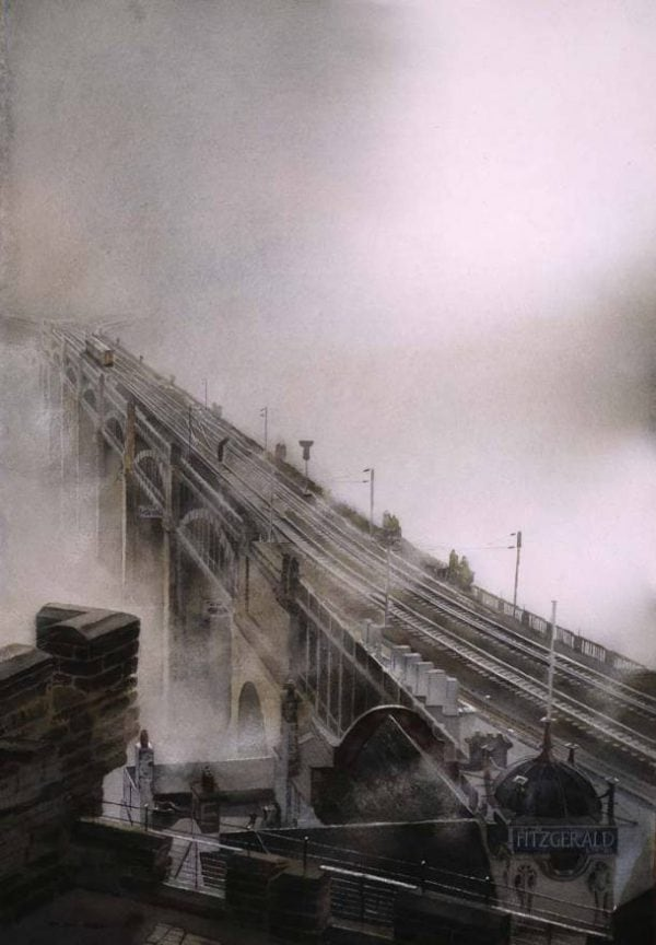 Fog on the Tyne, Newcastle High Level Bridge.jpeg