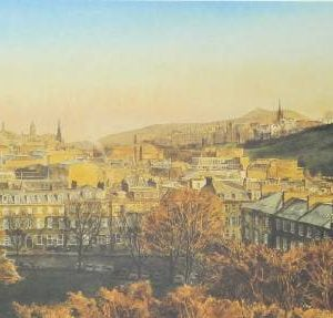 George Street, Edinburgh Castle Scotland.jpeg