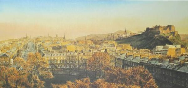 George Street, Edinburgh Castle Scotland.jpeg