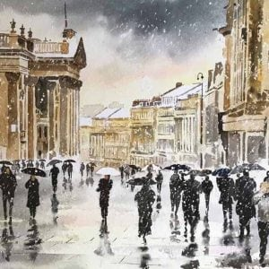 Grey Street, Newcastle upon Tyne Christmas Cards .jpg