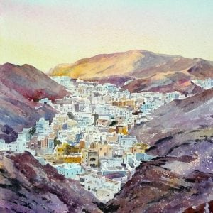 Last Light, Ruwi, Oman.JPG