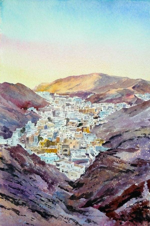 Last Light, Ruwi, Oman.JPG