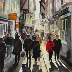 Limited edition print of the Shambles York.jpeg