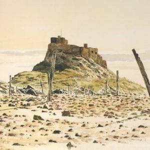 Lindisfarne Castle Print Northumberland.jpeg