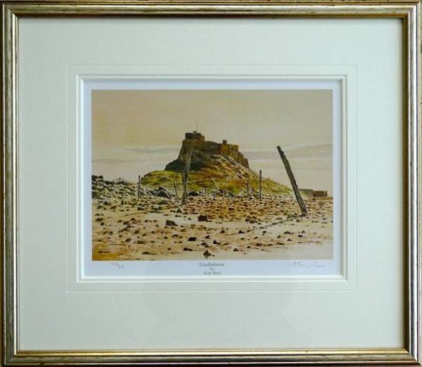 Lindisfarne Framed Print .jpeg