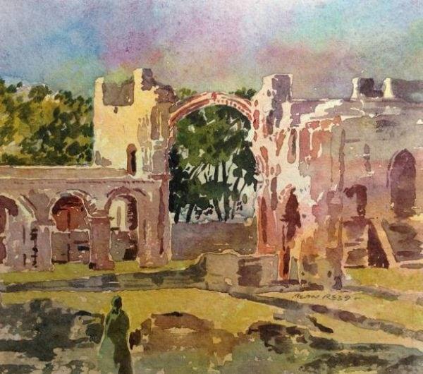 Lindisfarne Priory Holy Island, Northumbeland.jpeg