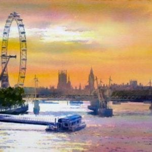 London Eye Art