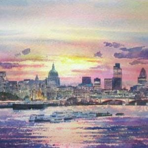 London Thames Sunrise .jpeg