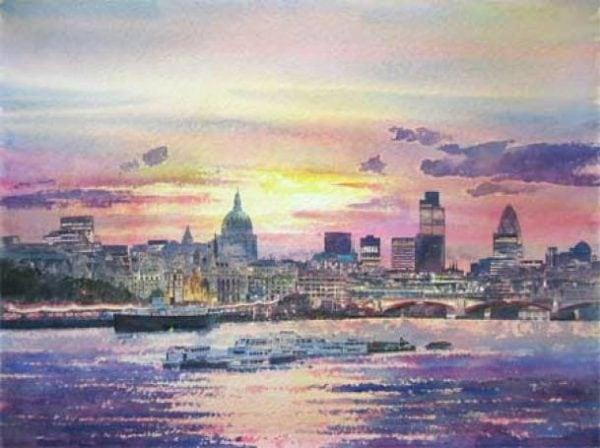 London Thames Sunrise .jpeg
