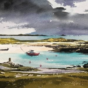 Scarinish Harbour Tiree