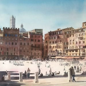 Paintings of Siena