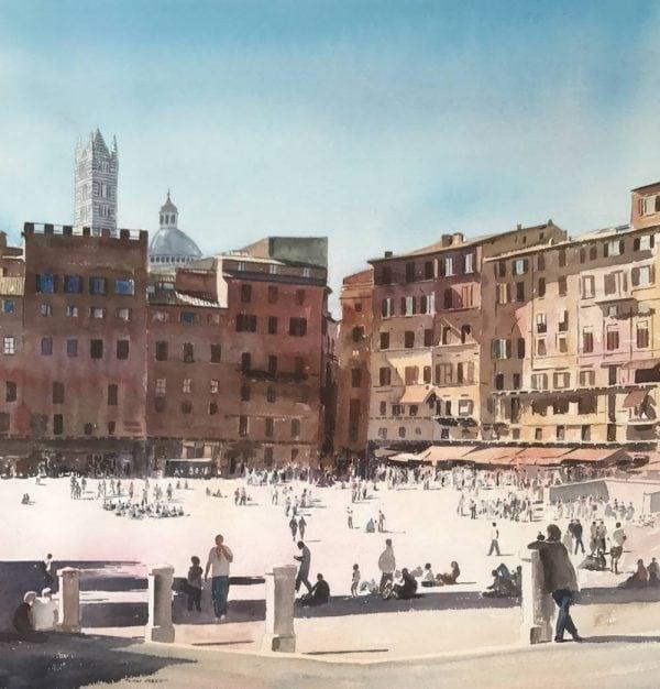 Paintings of Siena