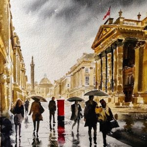 Theatre Royal in the Rain