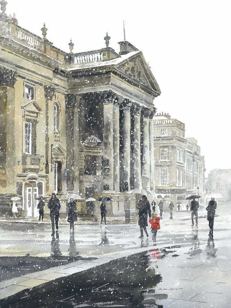 Theatre Royal in Winter