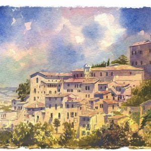 Paintings of Todi Umbria