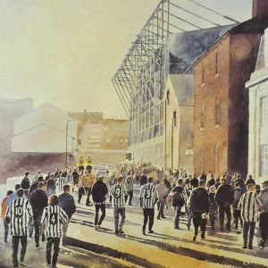 Newcastle united Football Prints