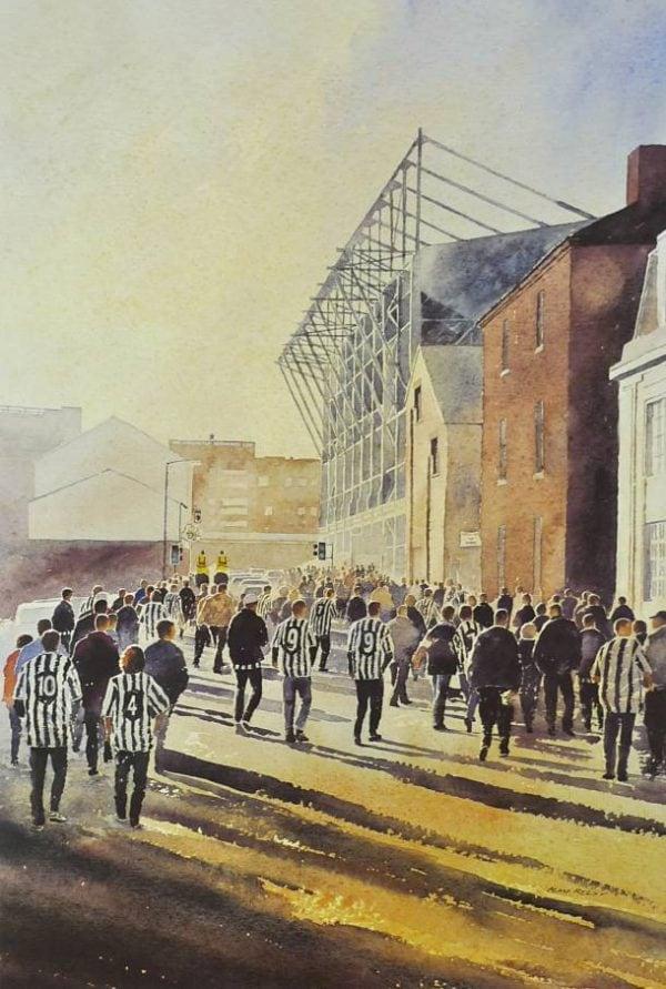 Newcastle united Football Prints