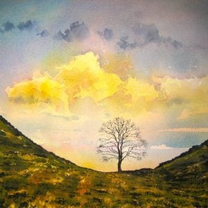 Sycamore Gap Painting