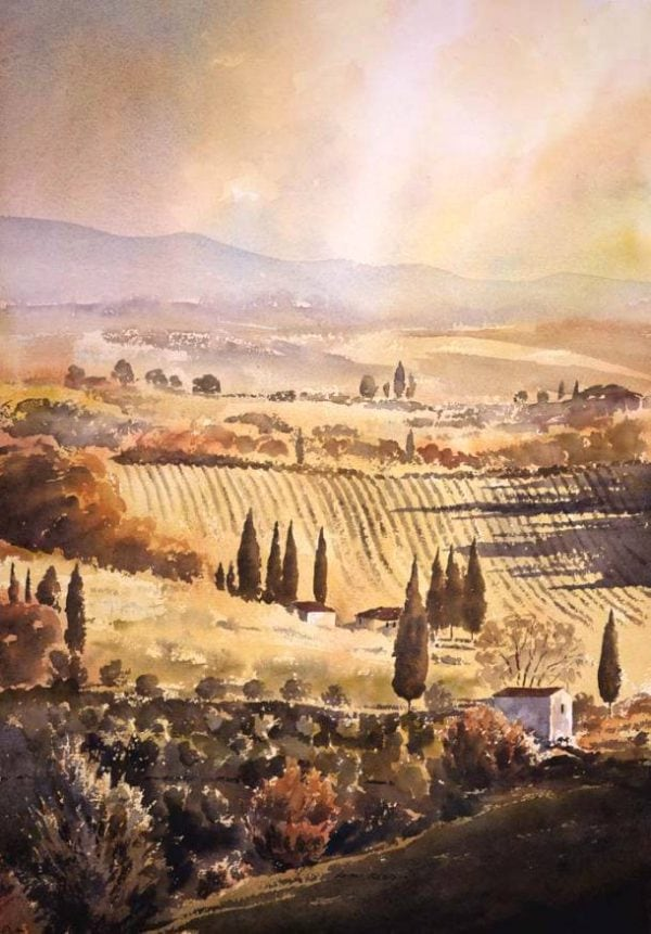 Limited Edition prints of Tuscany
